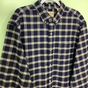 Red Head Brand Co Button Down Cotton Plaid Flannel